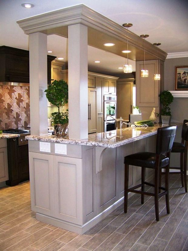 open kitchen with support wall design pic 6 2nd floor in 2018