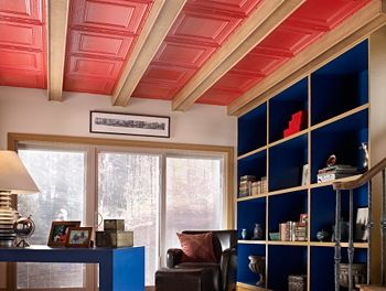 ... Painted Basement Ceiling Ideas