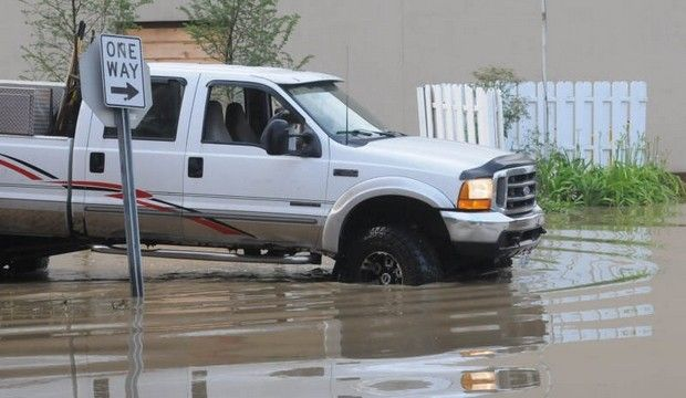 July 9 2013mansfield Area Hit By More Flooding Built Ford Tough Tough Building