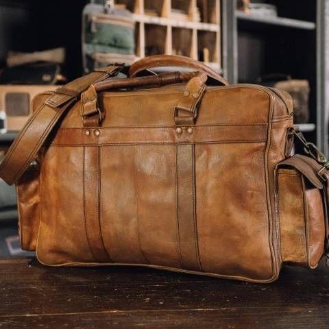 e87ddd333dee Everett Vintage Leather Pilot Bag