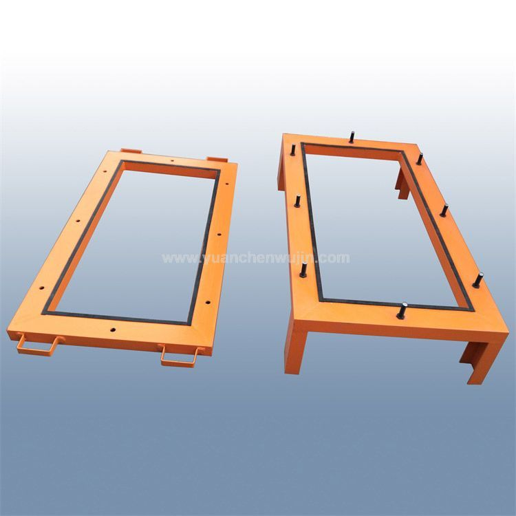 Head form testframe for auto windshield reference iso