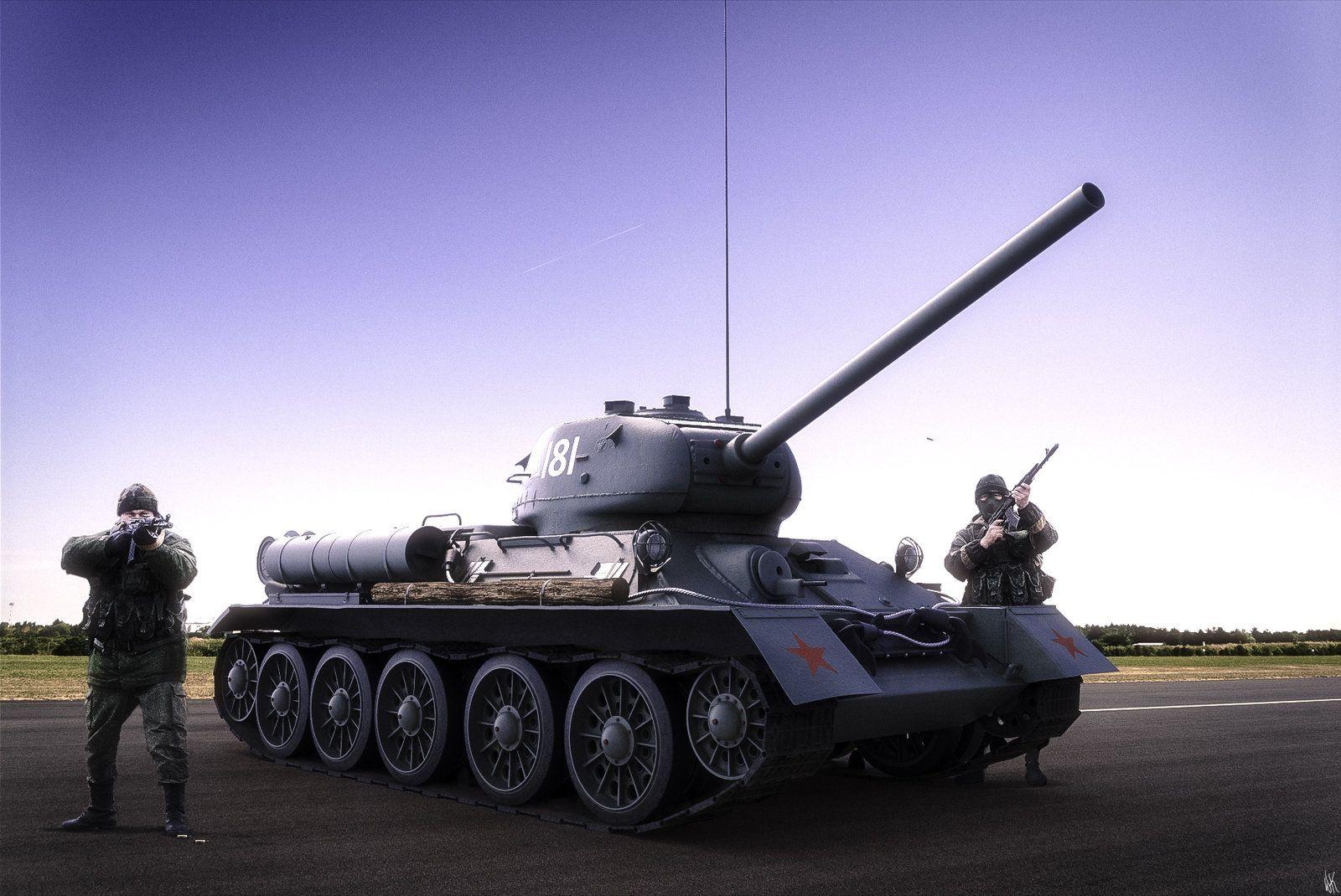 Russian T34-85, Wallace Kirkwood on ArtStation at http://www.artstation.com/artwork/russian-t34-85