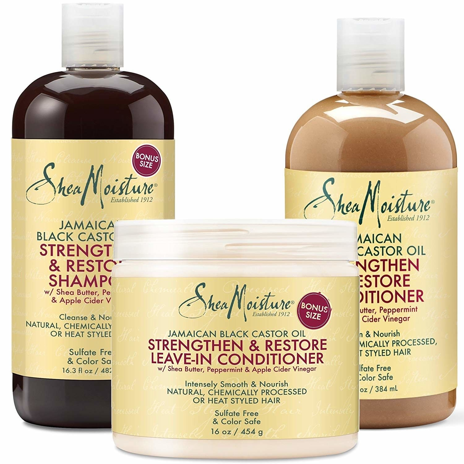 Hundreds And Hundreds Of People Agree These Hair Products Are Totally Worth The Money Shea Moisture Products Good Shampoo And Conditioner Black Castor Oil