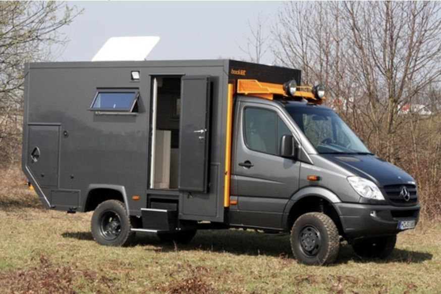 Mercedes Sprinter Camper 4x4 For Sale Online