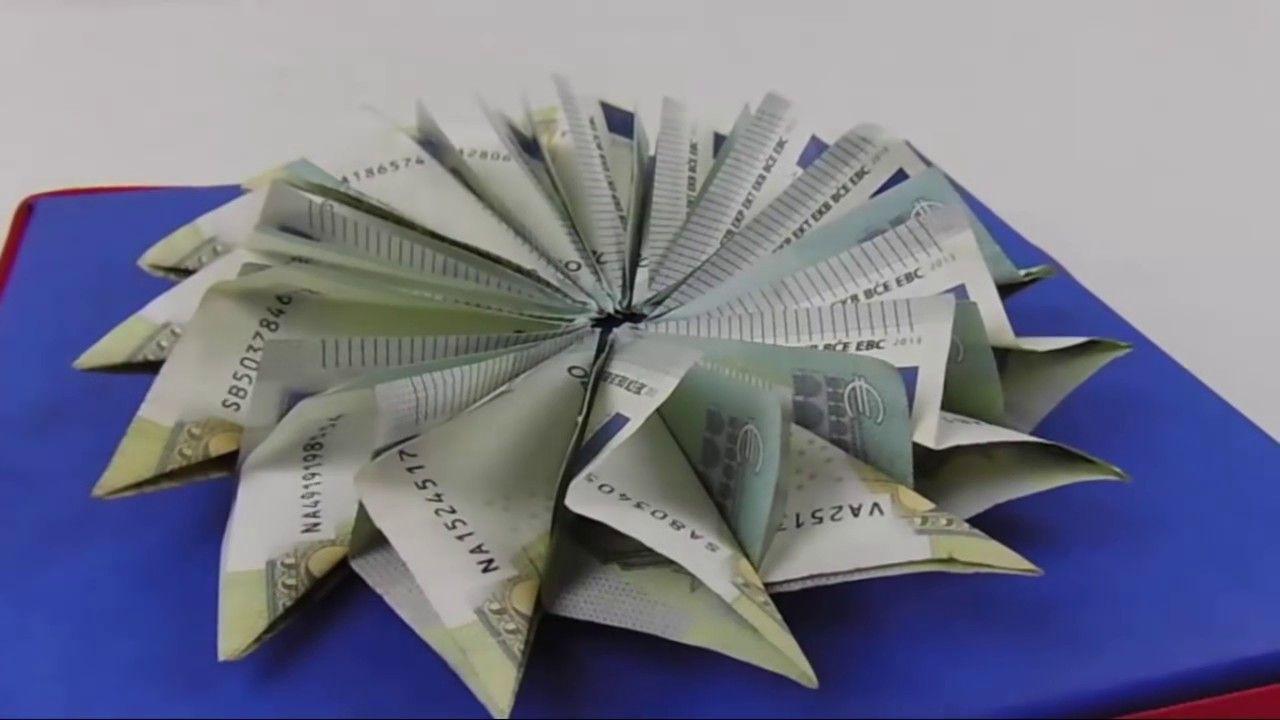 Sterne Aus Geldscheine Basteln Deko Ideen Mit Flora Shop