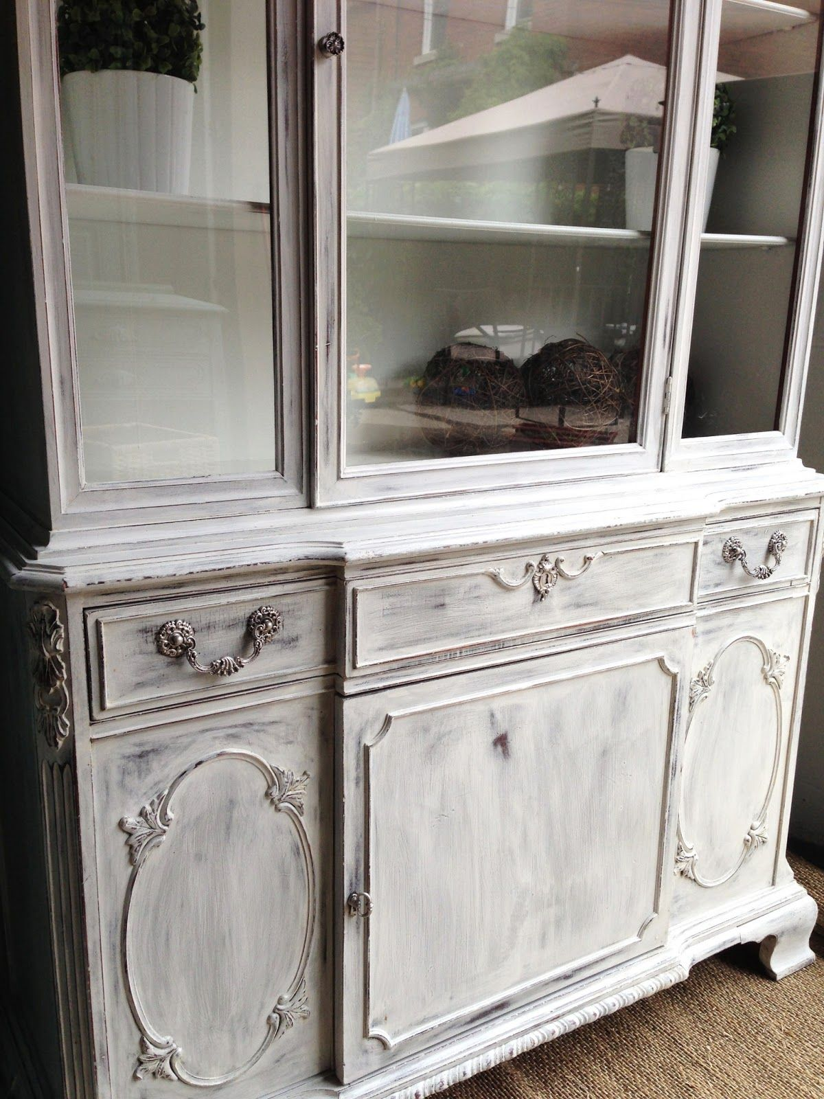 whitewash hutch it 39 s the same paris gray annie sloan