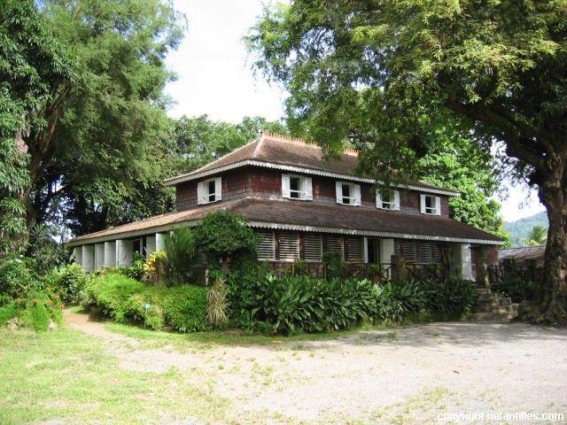 Maison de maître Habitation Clément François Martinique RePinned