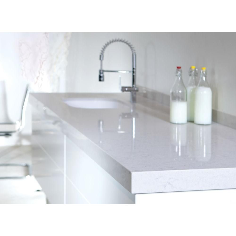 Photo Gallery Website Silestone in Quartz Countertop Sample in Lagoon
