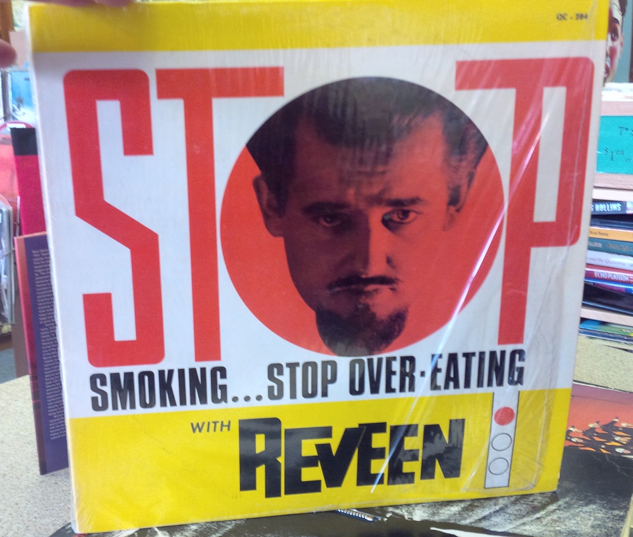 The great Reveen, hypnotist. On vinyl.