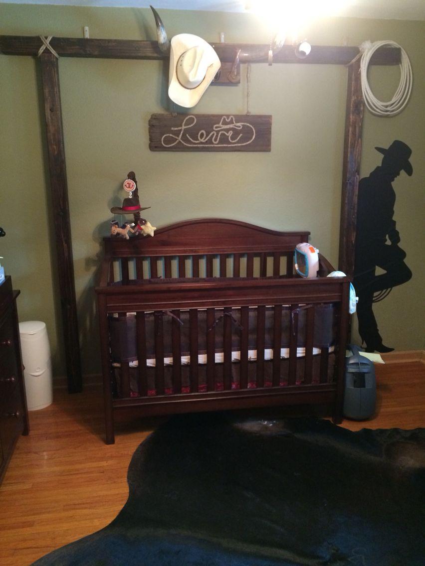 Cowboy/ranch themed nursery | Baby boy room nursery ...