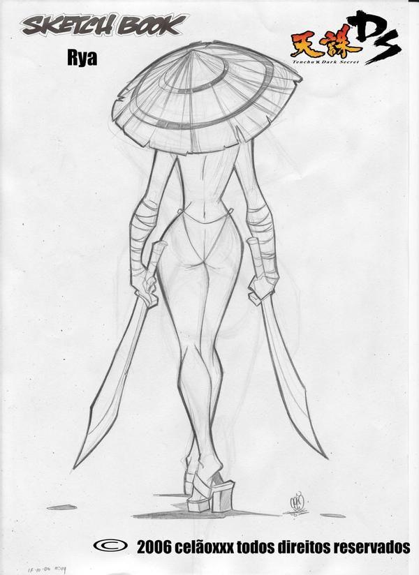 samurai girl to my friend DMT by celaoxxx on DeviantArt