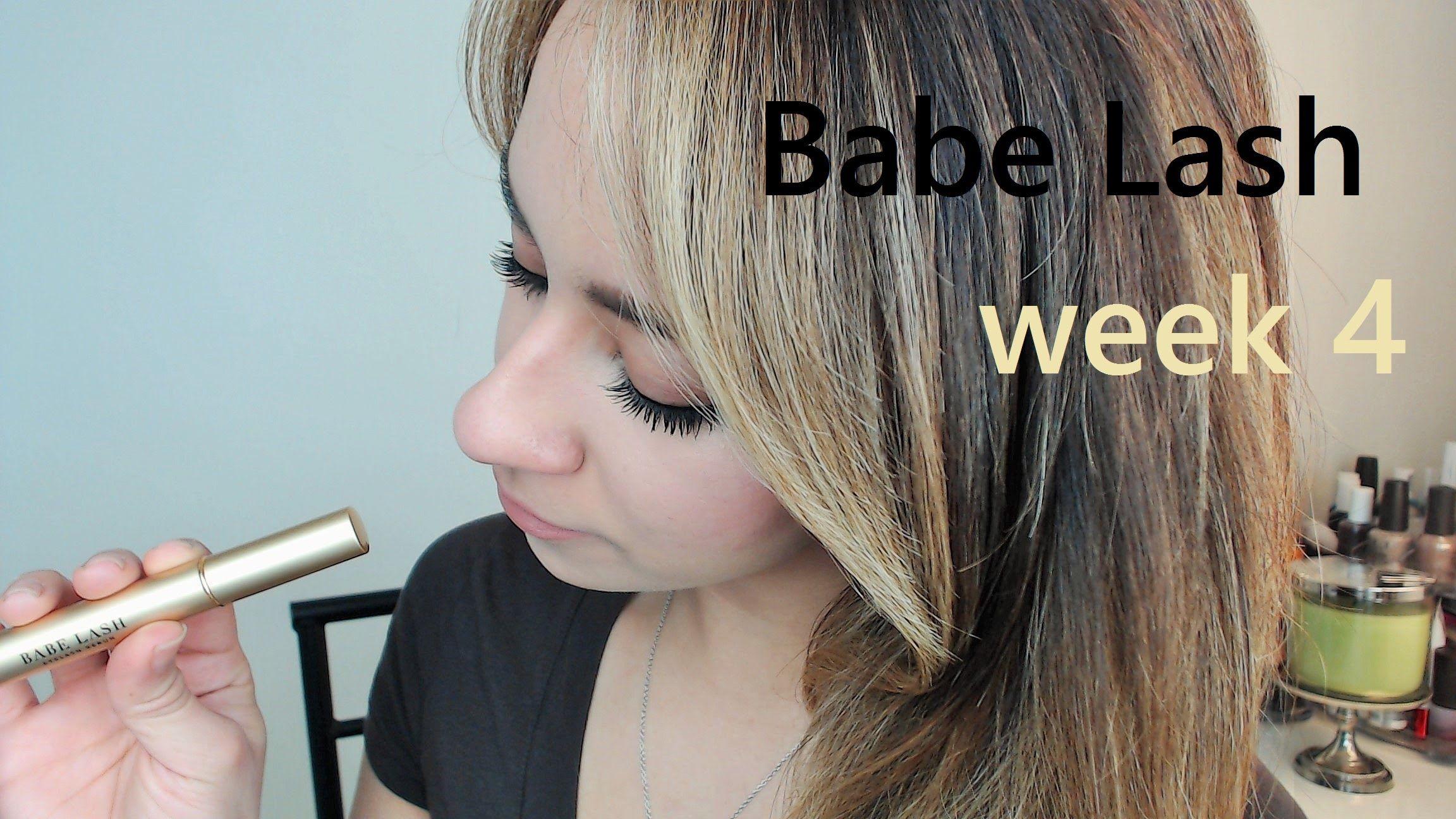Babe Lash Eyelash Serum Week 4 Update First Impressionsreviews