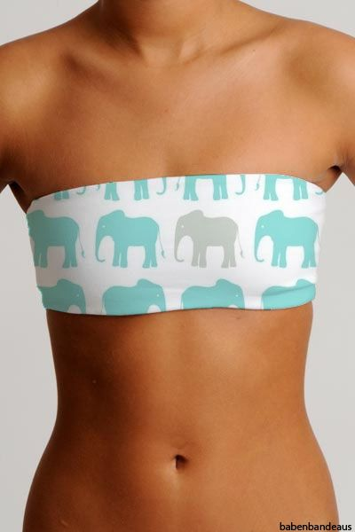 Elephant Bandeau. OMG. where can I get thisss?