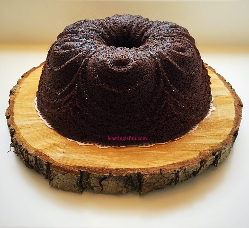 Chocolate cherry chiffon bundt cake chocolate chiffon