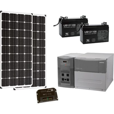 Strongway Solar Power Package 1800 Watts Solar Wind Systems Solar Energy System Solar Power System Best Solar Panels