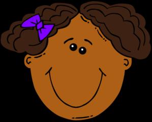 cartoon girl face clip art cclip art pinterest girl face rh pinterest ca girls face clipart girls face clipart