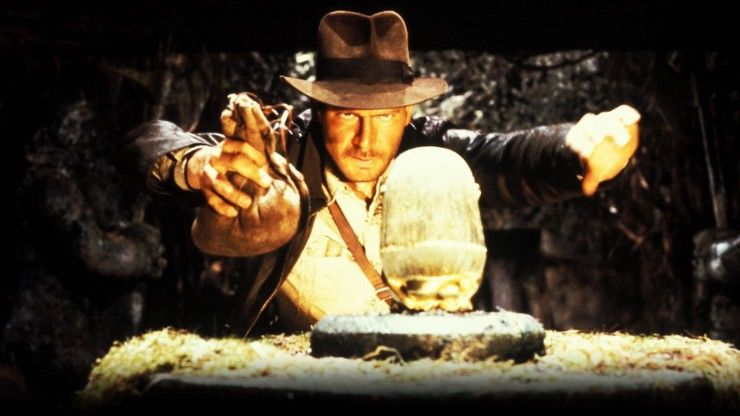 Heres why the boulder scene from raiders of the lost ark