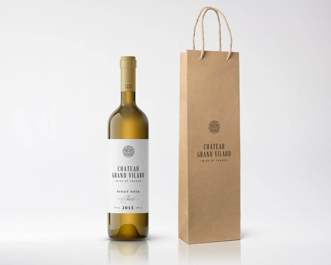 Wine Packaging Mockups by GraphicBurger on @creativemarket