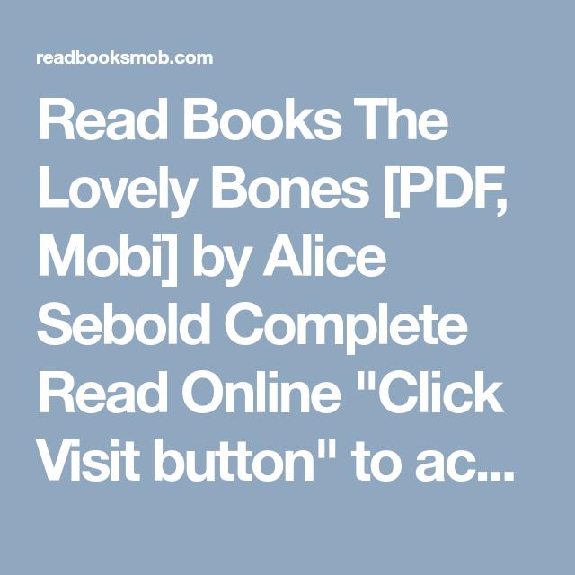 The Lovely Bones Pdf Free