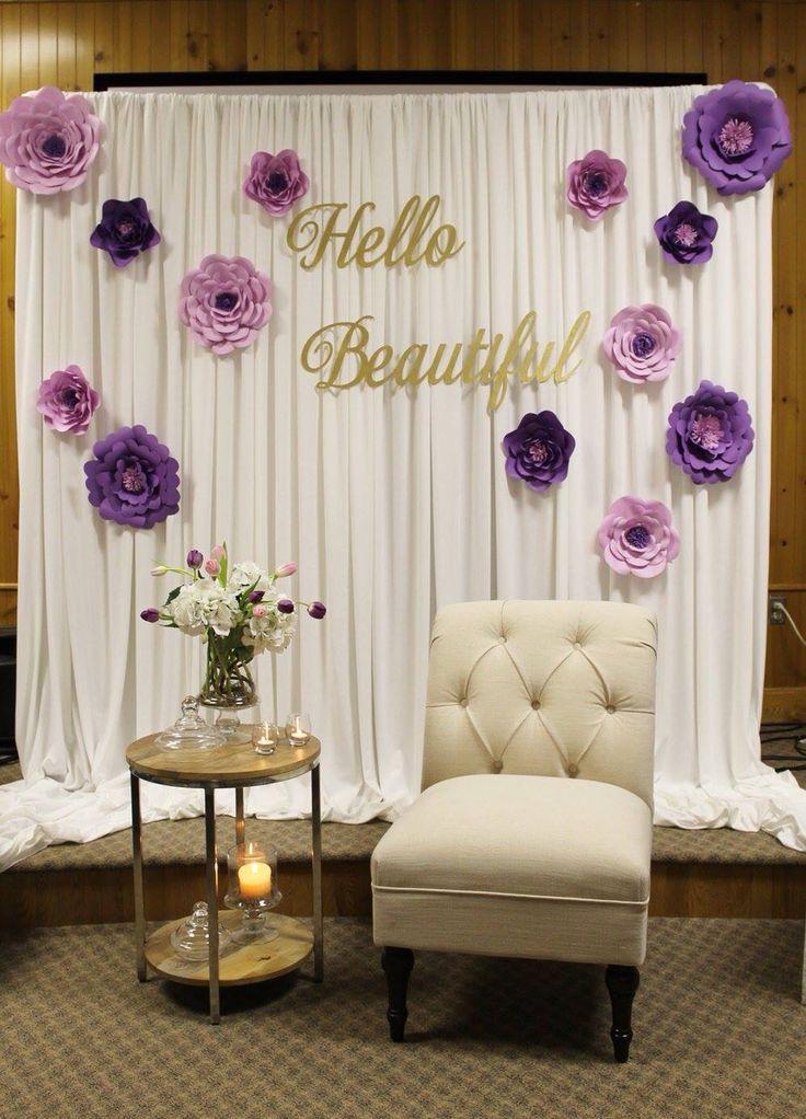 50th birthday party celebration deco anniv photobooth backdrop diy bridal shower backdrop bridal