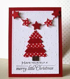 tarjetas de navidad manualidades Buscar con Google