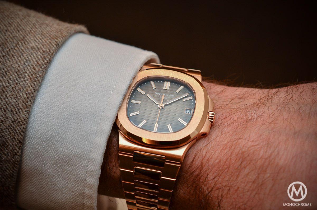eda1cb57461 Patek Philippe Nautilus 5711 1R-001 - Rose Gold Chocolate Dial ...