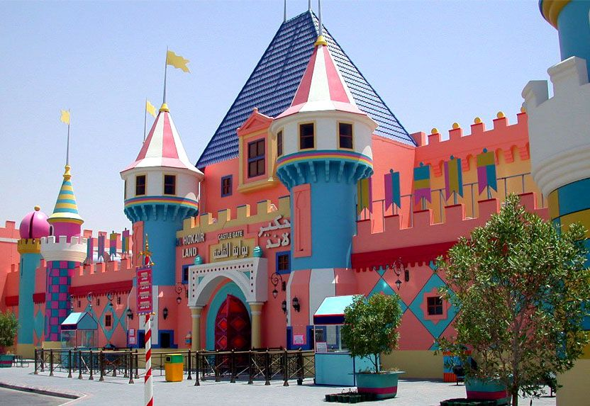 Theme Park Al Hokair Land Riyadh Park S House Styles Theme Park