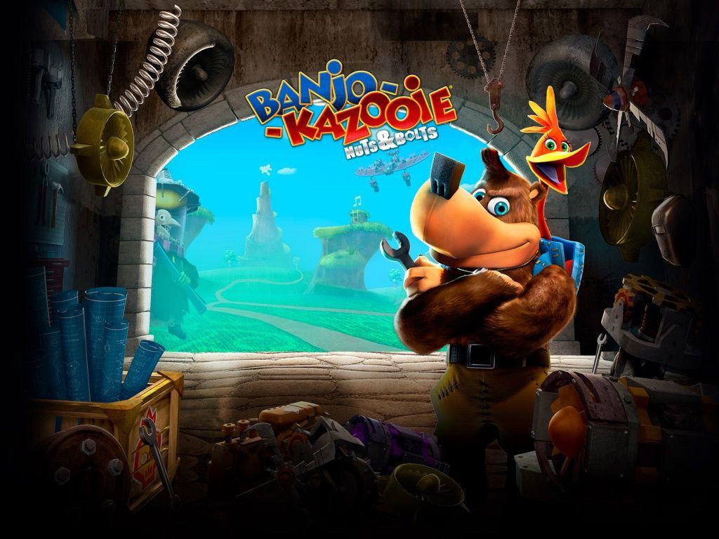 A Wallpaper For Banjo Kazooie Nuts Bolts Xbox 360 Banjo Kazooie Banjo Donkey Kong Country