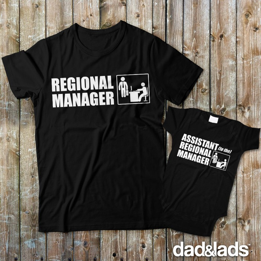 FATHER AND SON SET T-SHIRTS SET DAD AND SON THE BOSS SET