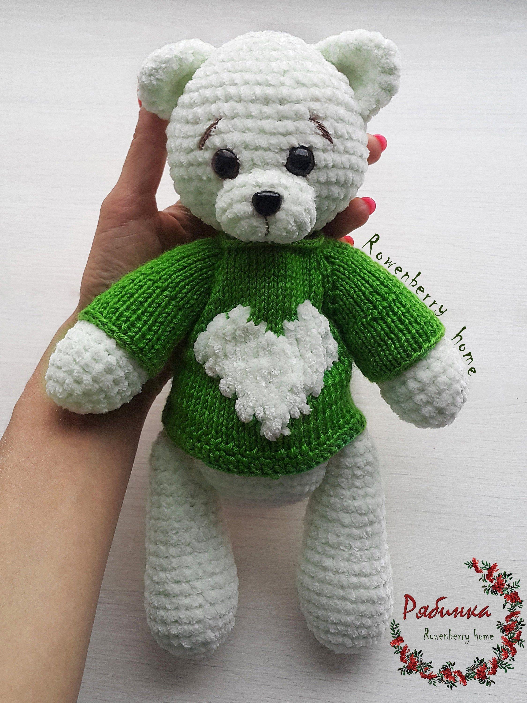 Amigurumi Bear in Sweater | 3000x2250