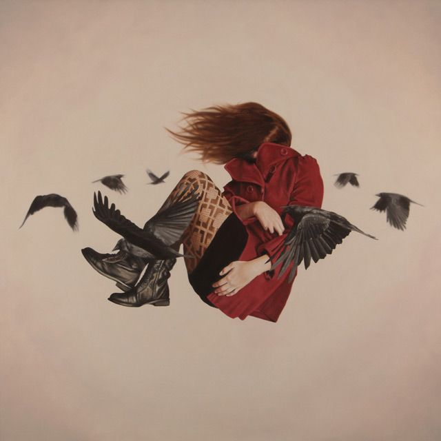 Relativity: Surreal Paintings of Indecision and Uncertainty by Alex Hall |  Surrealism painting, Art, Surreal art