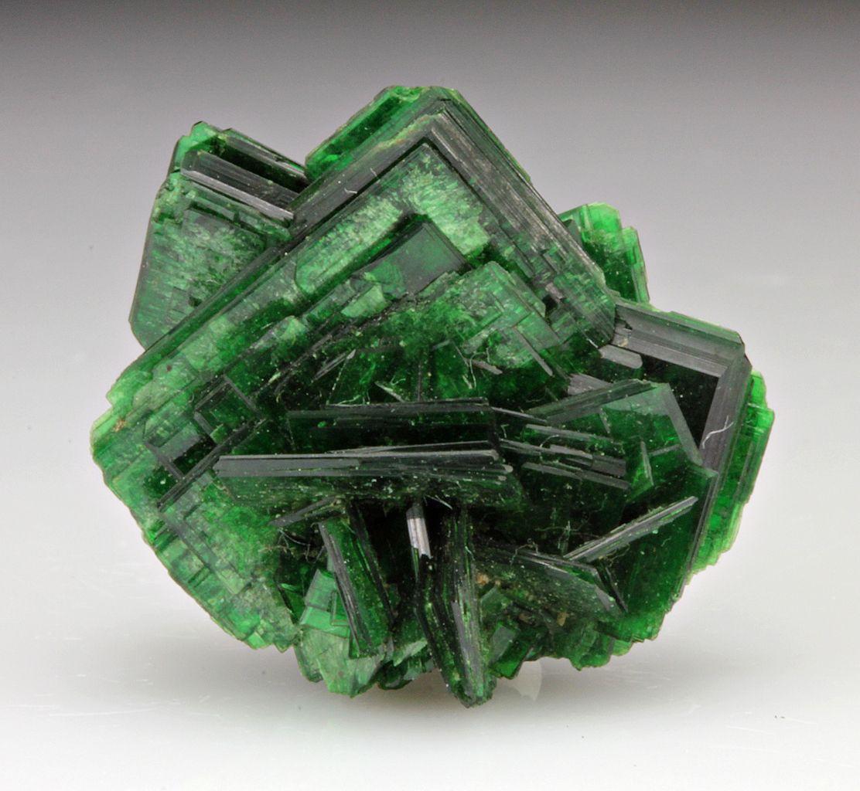 torbernite is a radioactive hydrated green copper uranyl