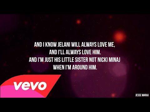 Nicki Minaj All Things Go Lyrics Video Lyrics Rap Songs The Pinkprint Album
