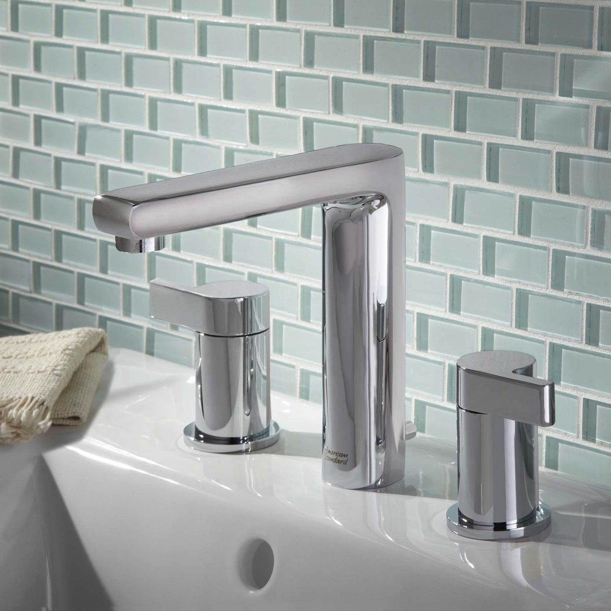 Contemporary Art Websites The Studio widespread bathroom faucet features the exclusive Speed Connect Metal Drain which installs in less time and has fewer parts that needs no