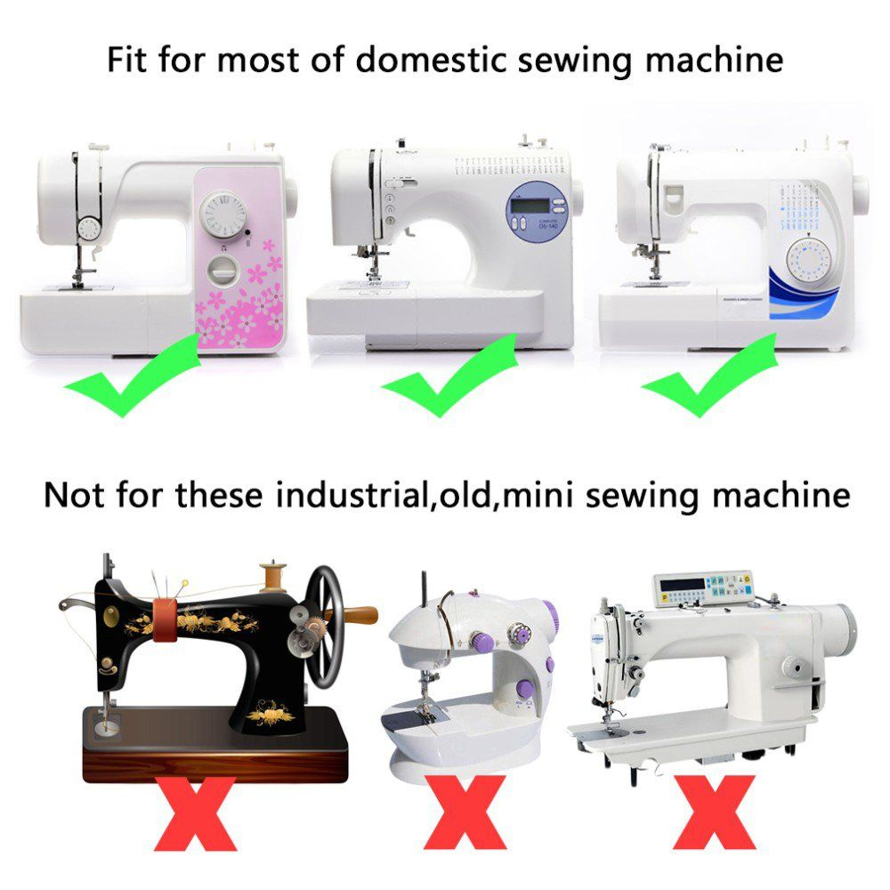 Household Sewing Machine Presser Foot Universal Quilting ...
