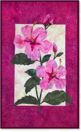 Hibiscus Flower Quilt Patterns Hawaiian Quilt Patterns Applique Quilting