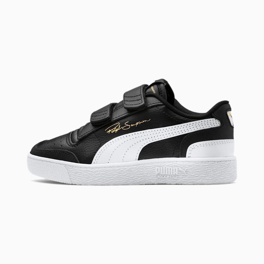 PUMA Ralph Sampson Lo V Youngsters' Trainers in Black/White ...