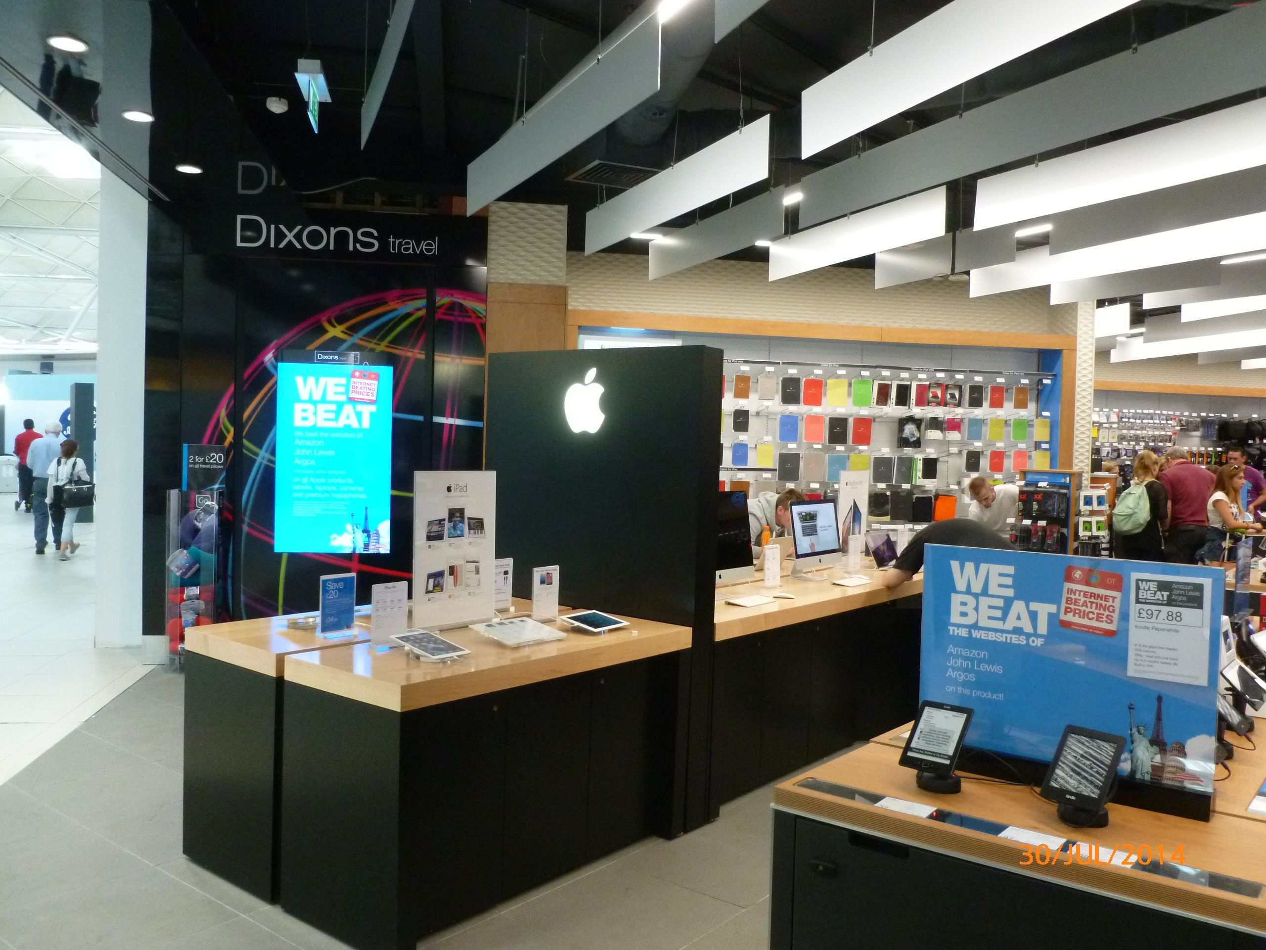 Another view of our new Dixons Travel store in Stansted