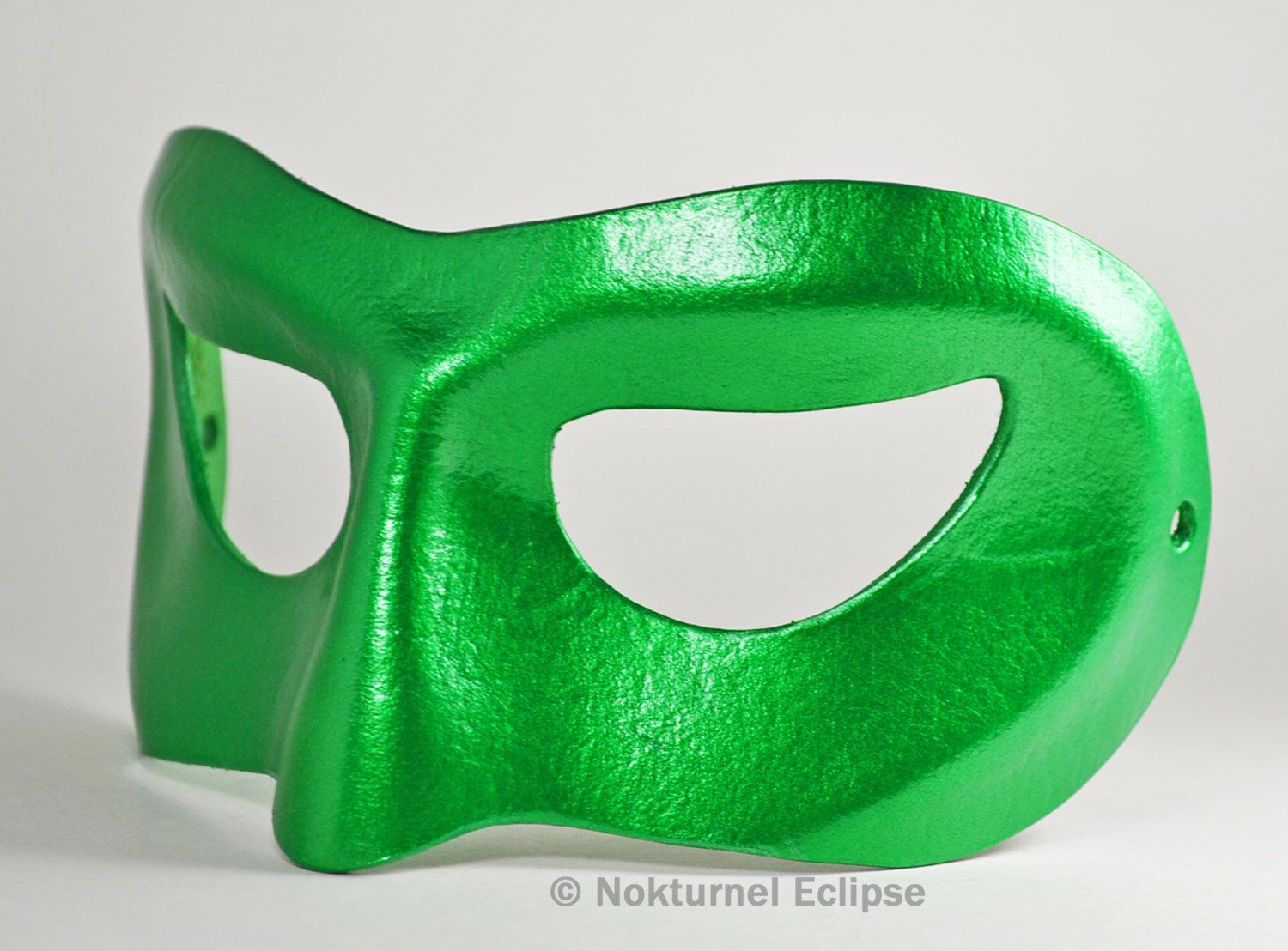 Green Lantern Leather Mask Justice League Cosplay Dawn of Justice Superhero Masquerade DC Comics Halloween - Available In Any Basic Color 4HcnKXJa