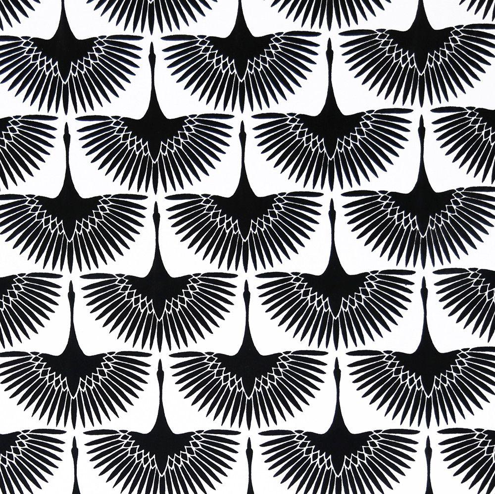 Flock, Onyx #birdfabric