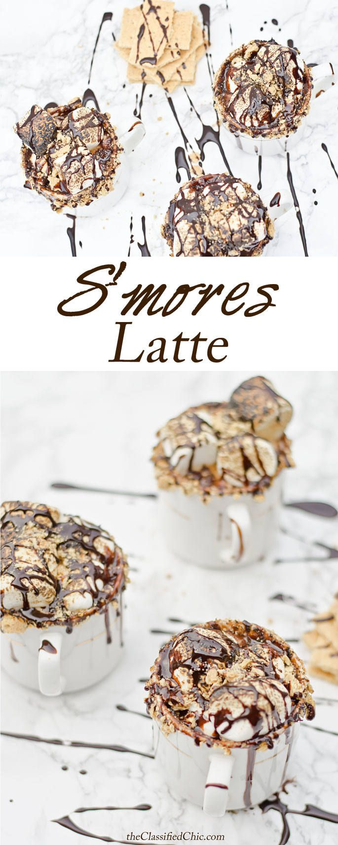 How to Make a Smores Latte   The Classified Chic