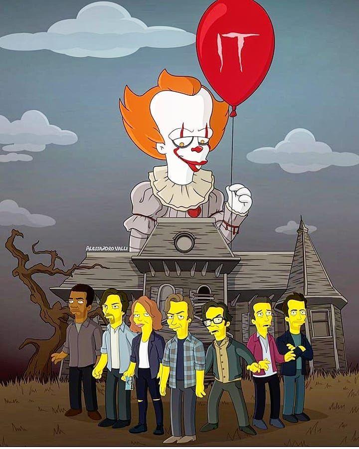 épinglé Par Tiphanie Sur ça It 2017 En 2019 Simpsons