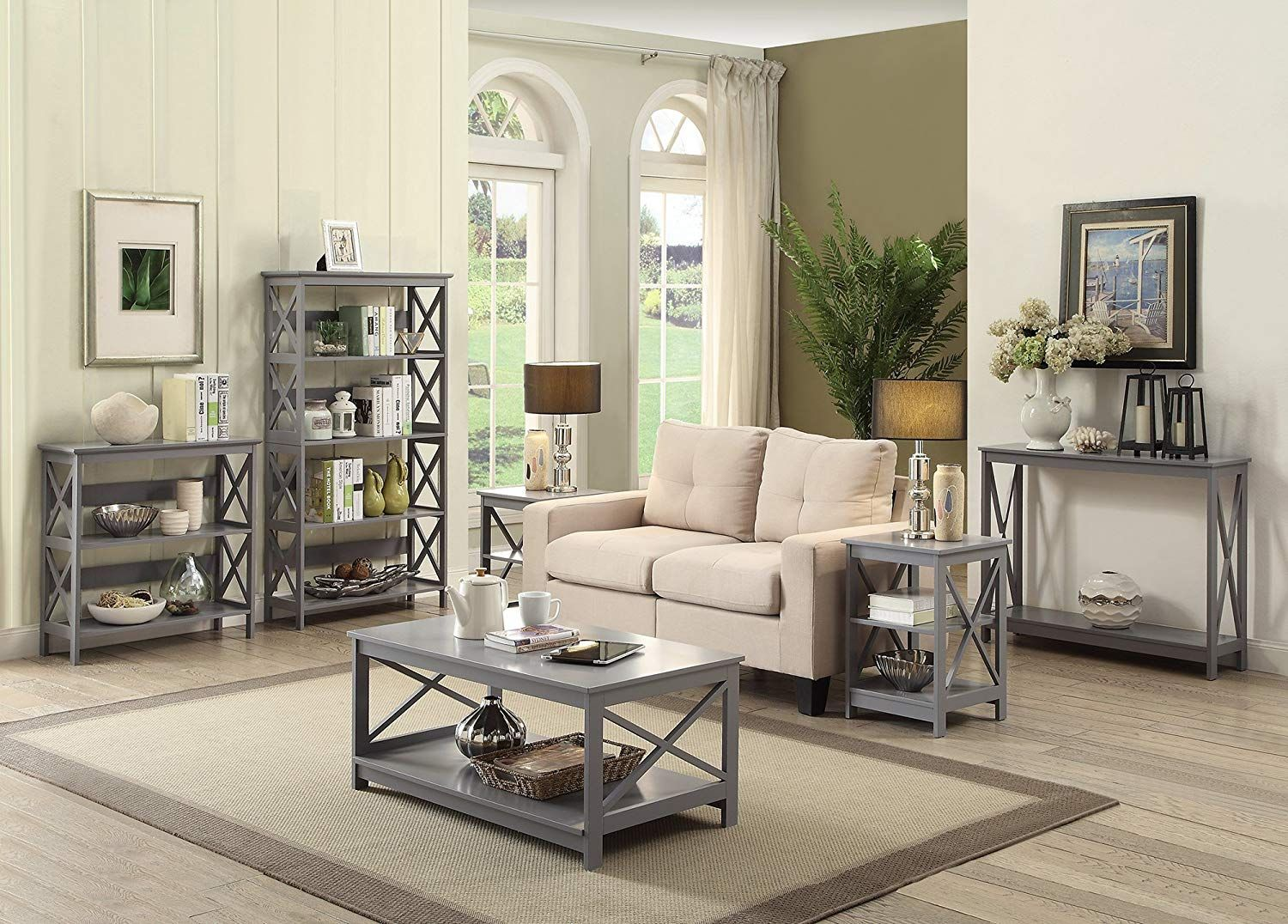 Price under 85. Coffee table grey, Furniture, Gray