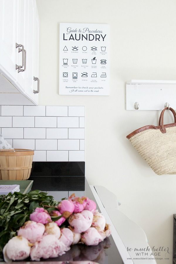Beautiful Wooden Laundry Guide Artwork Giveaway So Much Better With Age