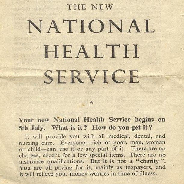nhs founded