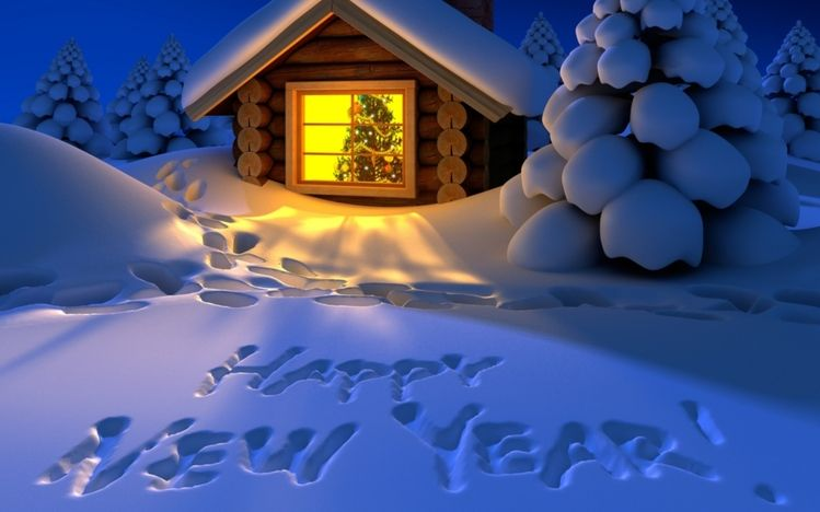 New Year Theme For Windows 10 Http Themepack Me Theme New Year Newyear Themes Windows Happy New Year Wallpaper New Year Wallpaper Happy New Year 2014