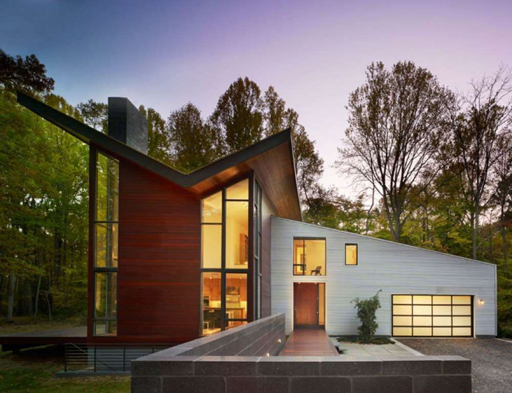 16 Most Popular Roof Types Architecture Modern Roof Design Facade House