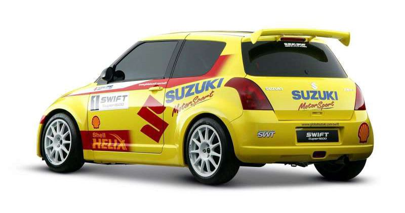 06 May 2012 Suzuki Swift Suzuki Rally Car