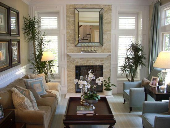 Great Transitional Design Style I LOVE These Colors
