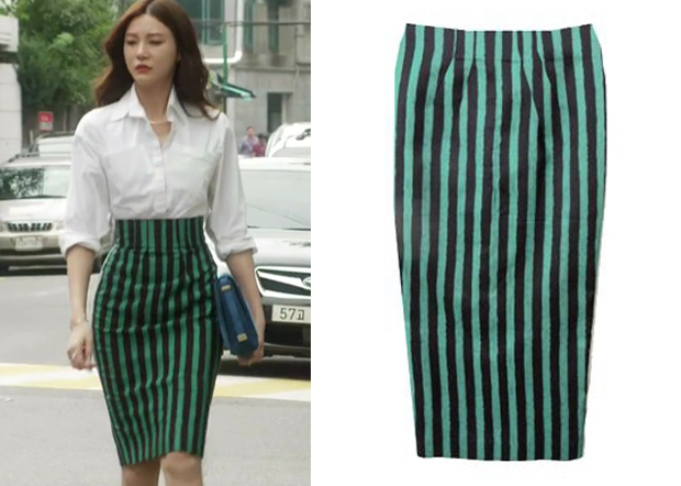Black And Green Skirt - Dress Ala
